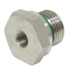 Stainless steel Reducing adaptor male/female BSP - REDR..WD RVS (male largest first) _