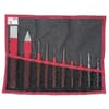 247.265JT10 Chisel / Punch set in Roll bag/pouch