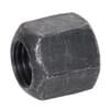 DIN 6330 hexagonal nuts, high, metric, class 10 black