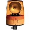 Rotating beacon Halogen, 24V, housing: yellow, flexible pole mount, Ø 147mm x190.5mm, JuniorPlus by Hella