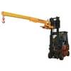 Extensible crane arms Type KT