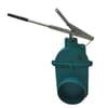 Gate valve + lever