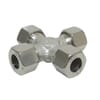 Stainless steel equal cross KV