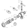 Spare parts for 455 . 444 . . ( 3-way) - Arag