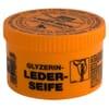 +Leather soap w/sponge