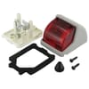 Rear light for roof attachment